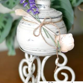 Distressed Jar Craft