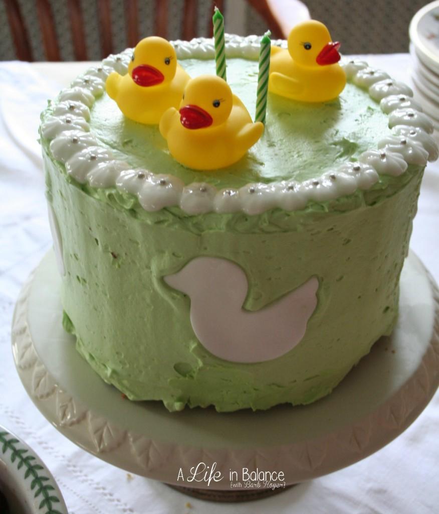Duck-Birthday-Cake