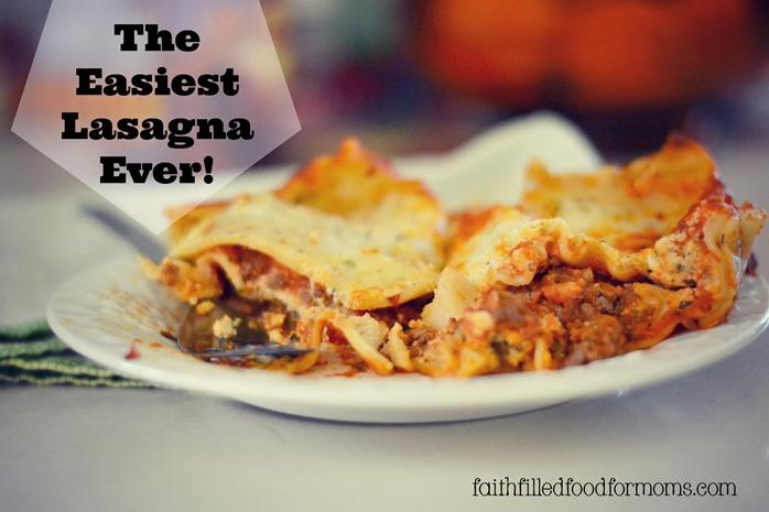 Easiest Lasagna