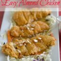 Easy Almond Chicken Recipe
