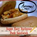 Easy Barbecue Pork Sandwich