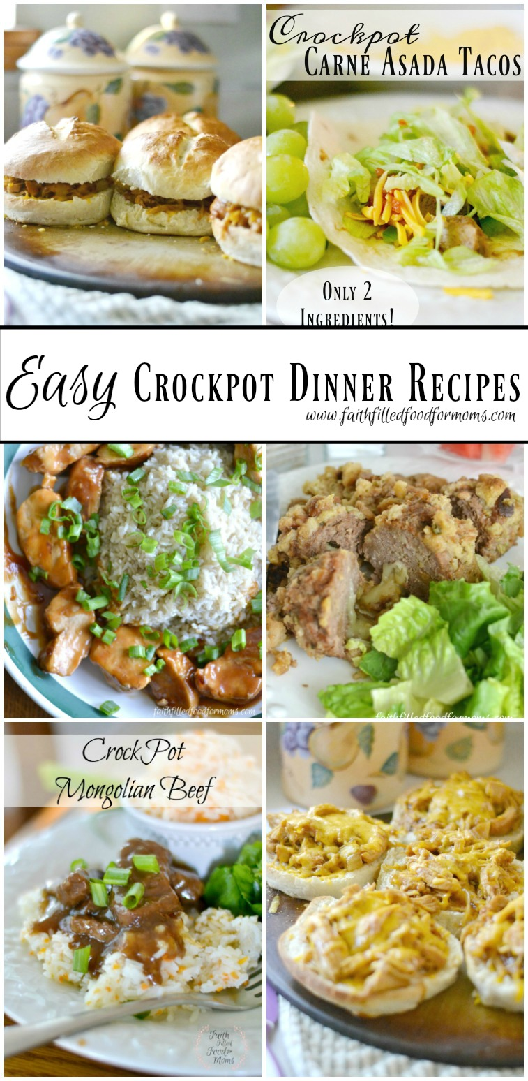 Quick easy slow cooker recipes for busy families
