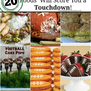Easy Football Finger Food and Appetizers That Will Score You a Touchdown!