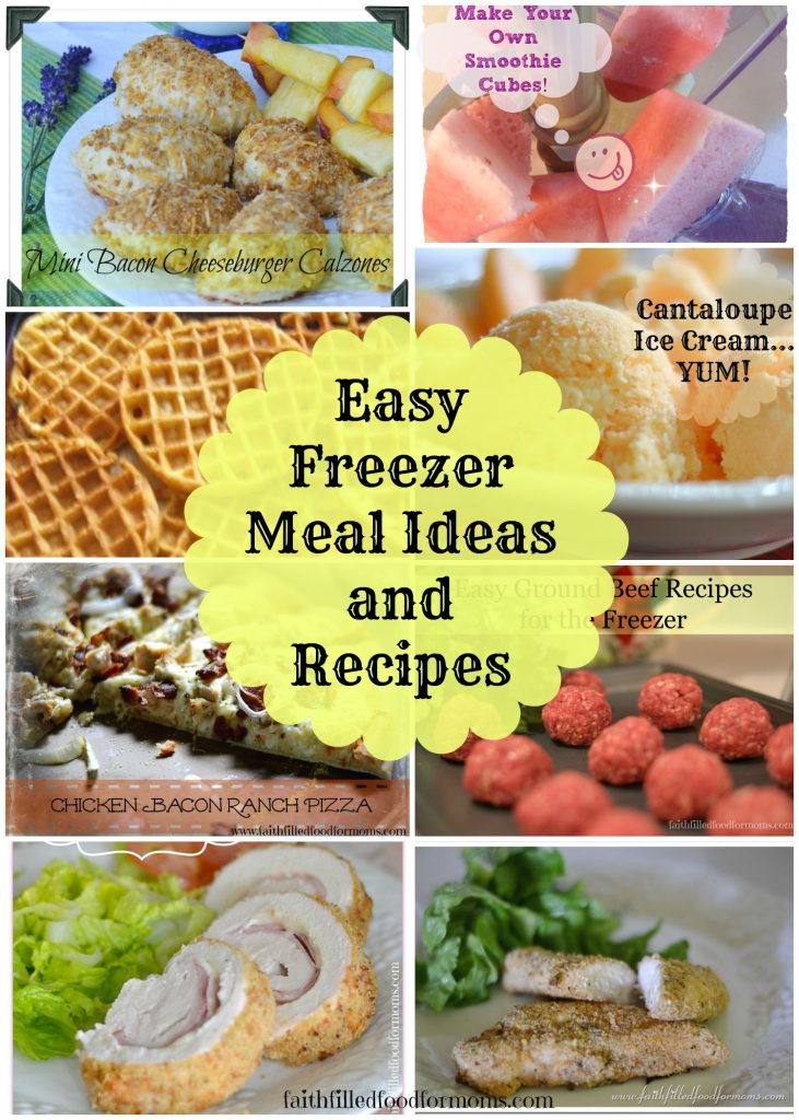 Easy Freezer Meal Ideas and Recipes
