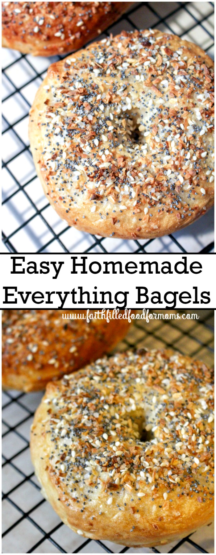 Homemade Bagels with Everything Bagel Seasoning