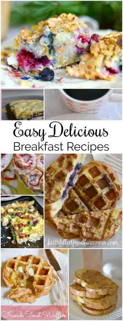 Easy Delicious Breakfast Recipes