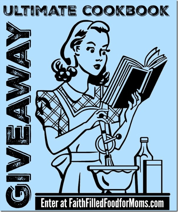 Enter to win the Ultimate Cookbook Giveaway