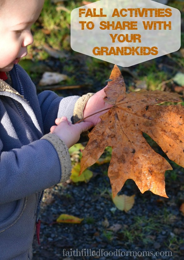 Fall Activities to Share with Your Grandkids