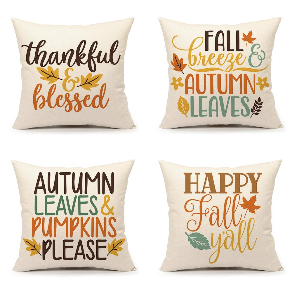 Pillow Covers for Fall