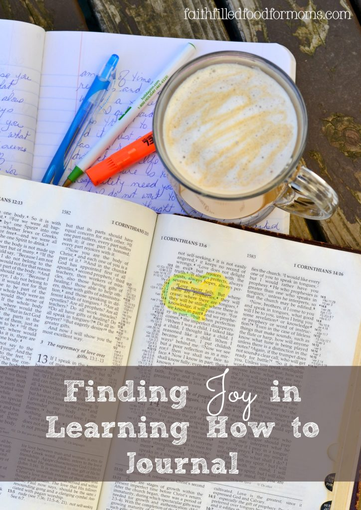 Finding Joy in Learning How to Journal