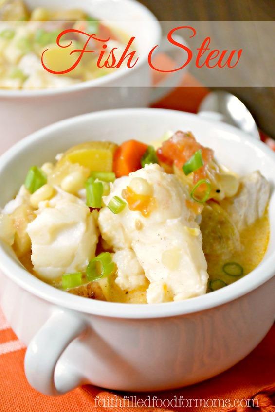 Fish Stew / Soup recipe