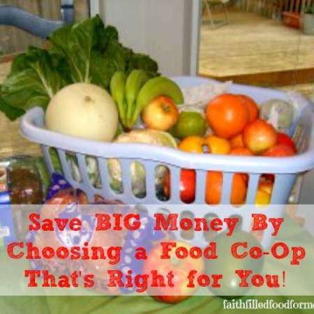 Food Co-Op Savings