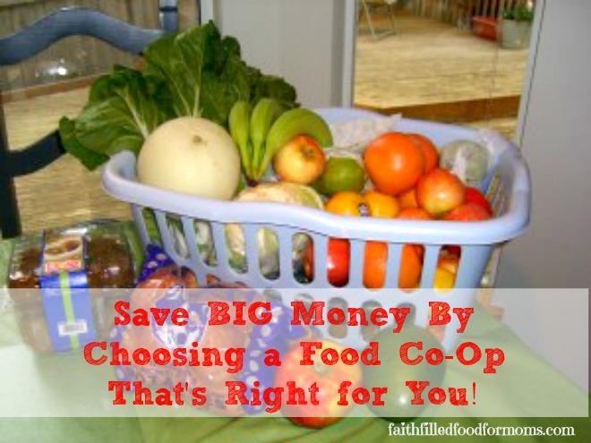 Food Co-Op Savings