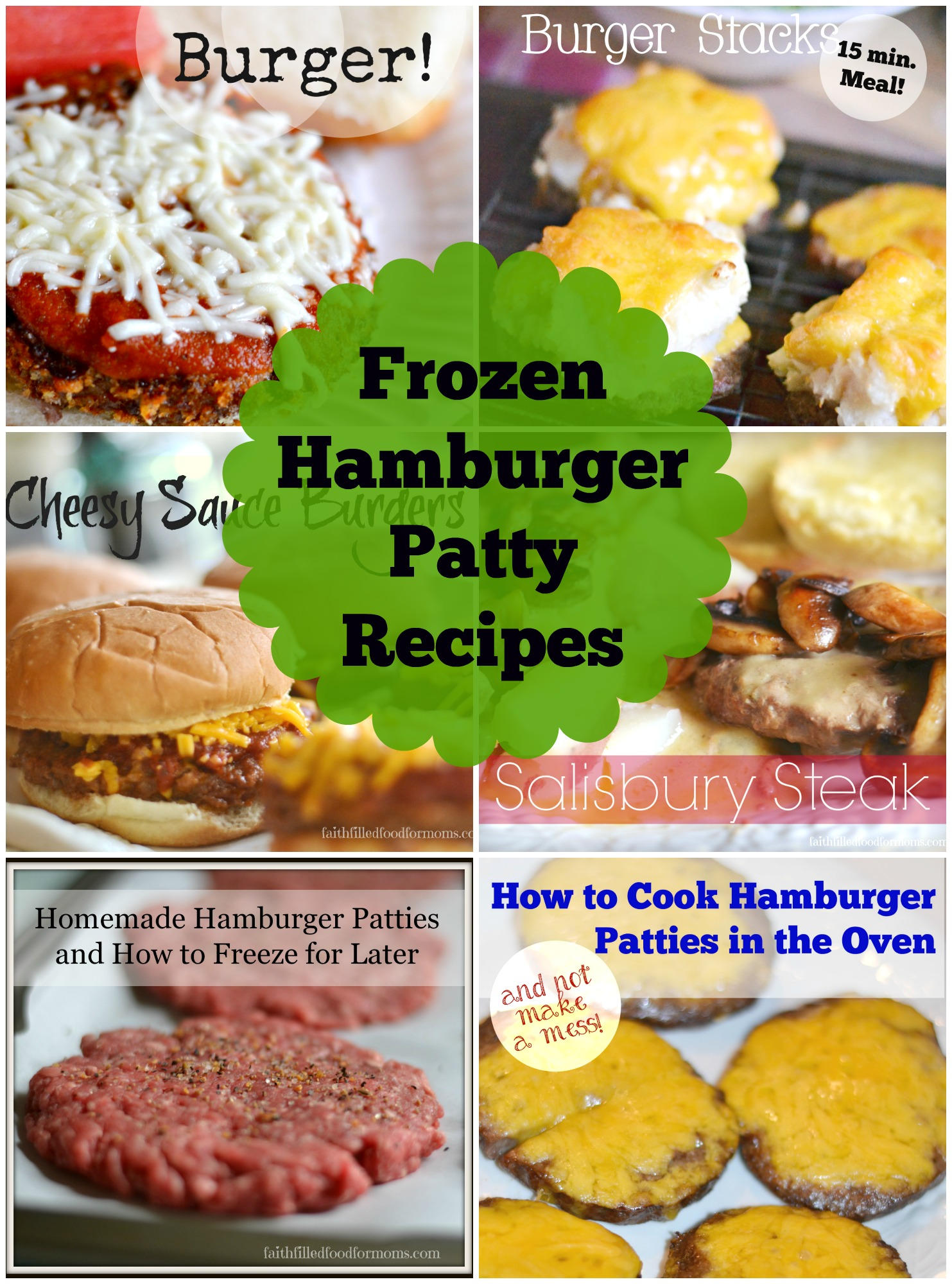 Frozen Hamburger Patty Recipes