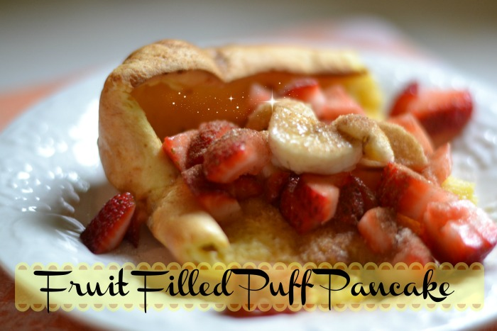 Fruit Filled Puff Pancake Recipe