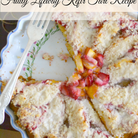 Fruity Lifeway Kefir Tart Recipe