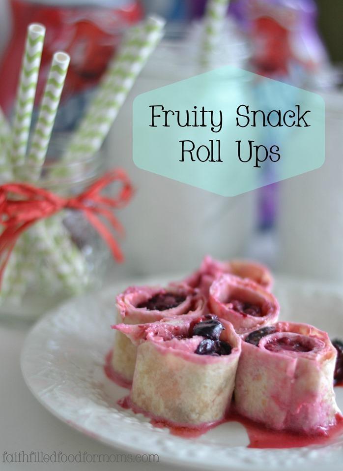 Fruity Snack Roll Ups