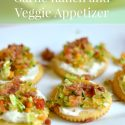 Garlic Ranch and Veggie Appetizer