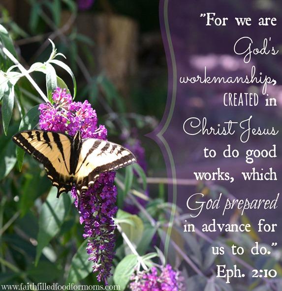 God's workmanship Ephesians 2:10