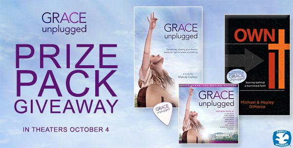 GRACE Unplugged Prize Pack Giveaway–Are you Ready?