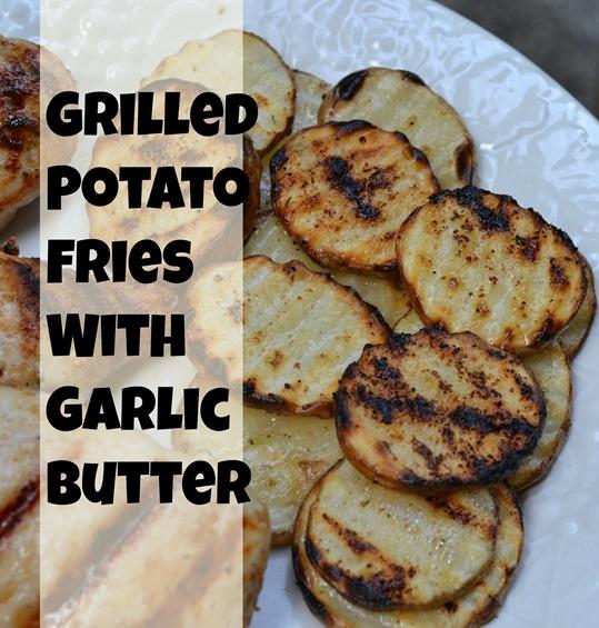 Grilled Potato Fries