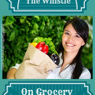 Lets Blow the Whistle on Outrageous Grocery Prices!