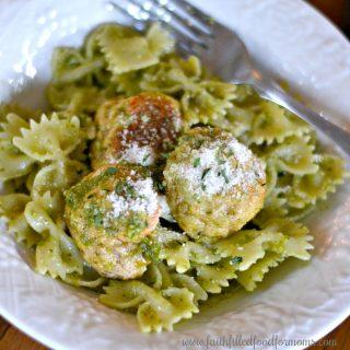 Easy Ground Chicken Meatballs Recipe