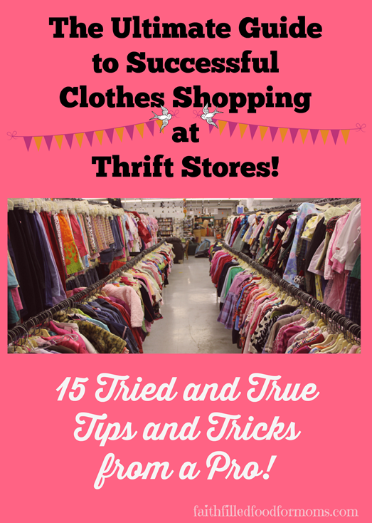 Guide to Thrift Shopping