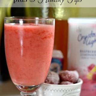 Healthy Drink Recipe plus 6 Healthy Tips