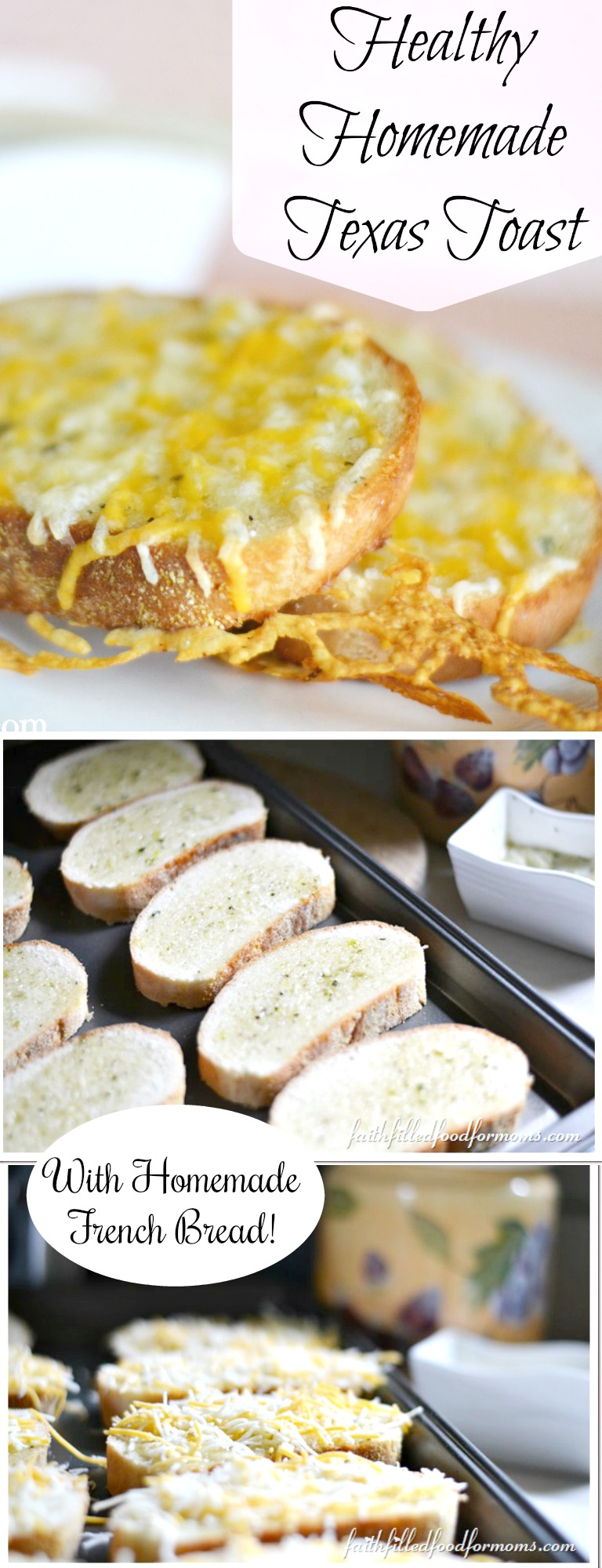 Healthy Homemade Texas Toast
