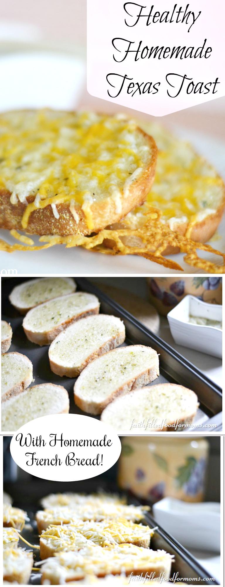Healthy Homemade Texas Toast