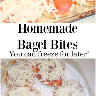 Easy Homemade Bagel Bites