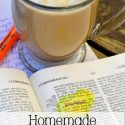 Caramel Latte Recipe and Quiet Time
