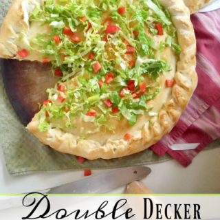Double Decker Taco Pizza