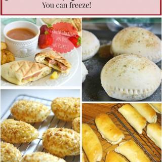 Homemade Hot Pockets for Freezer Meals
