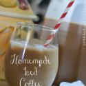 Homemade Iced Coffee Recipe