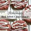 Homemade Red Velvet Chip Cookies