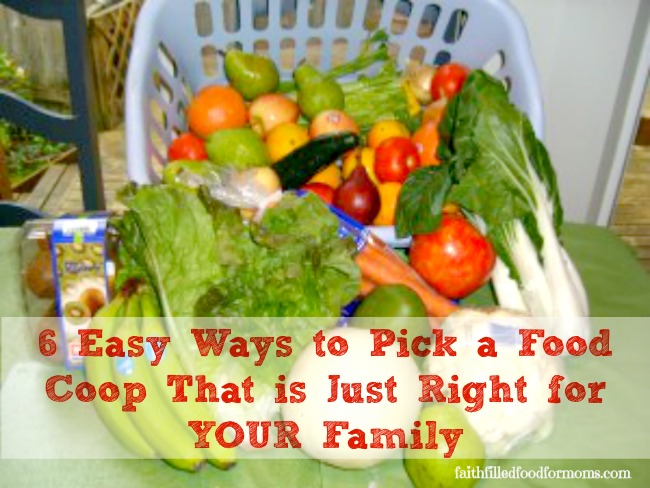 How to Choose a Food Coop
