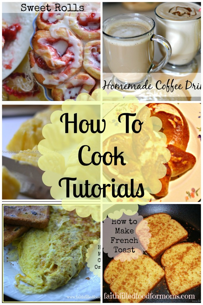 How to Cook Tutorials