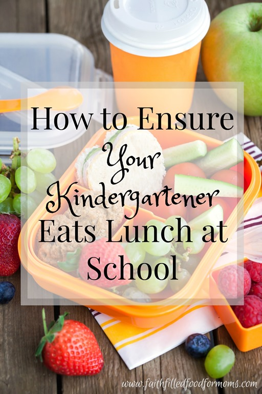 How to ensure your kids will eat their lunch at school.