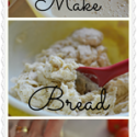 Homemade Bread Dough is very simple to make! This recipe can make a TON of other recipes!