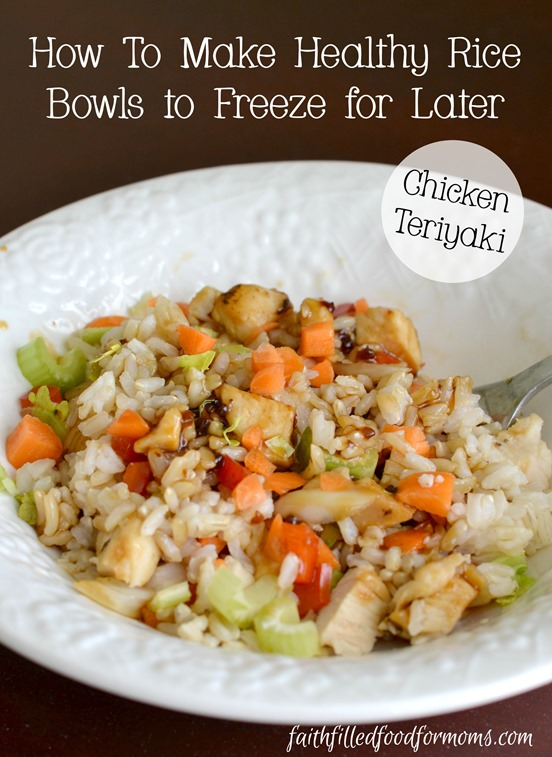 How to Make Chicken Teriyaki Rice Bowls