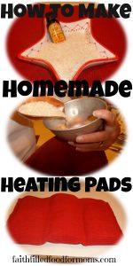 Making Homemade Heating Pads
