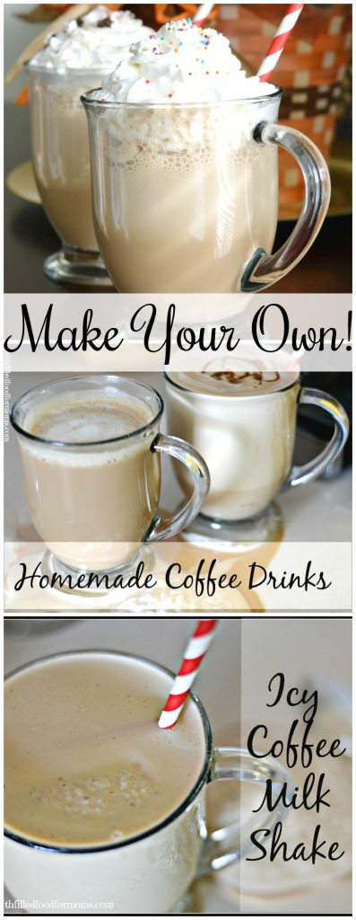 How to Make Your Own Fancy Coffee Drinks