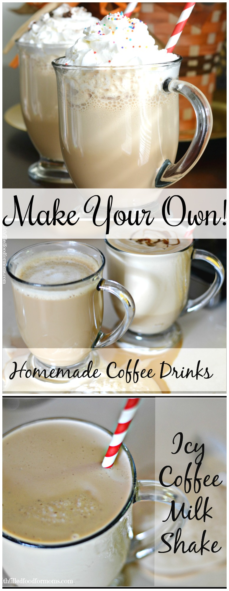 Ditch the refined sugar, processed whipped topping and the high cost of coffee shop drinks. Making your own version of popular brews at home is fun and delicious.