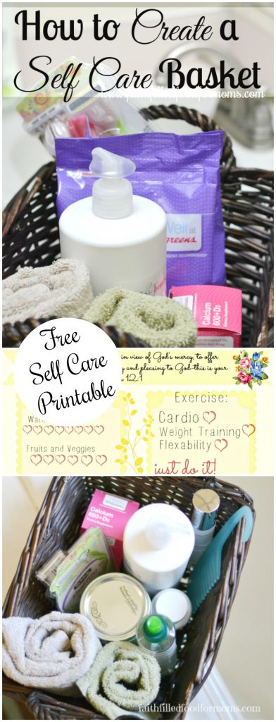 DIY Self Care Basket