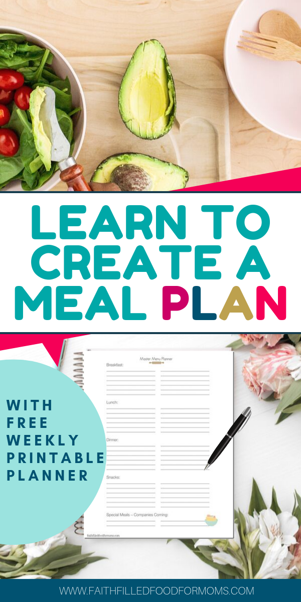 step by step meal planning