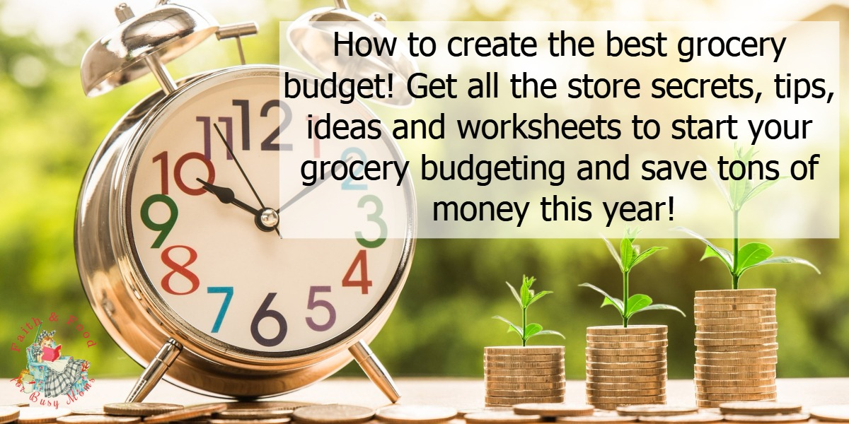 How to create the best grocery budget this year