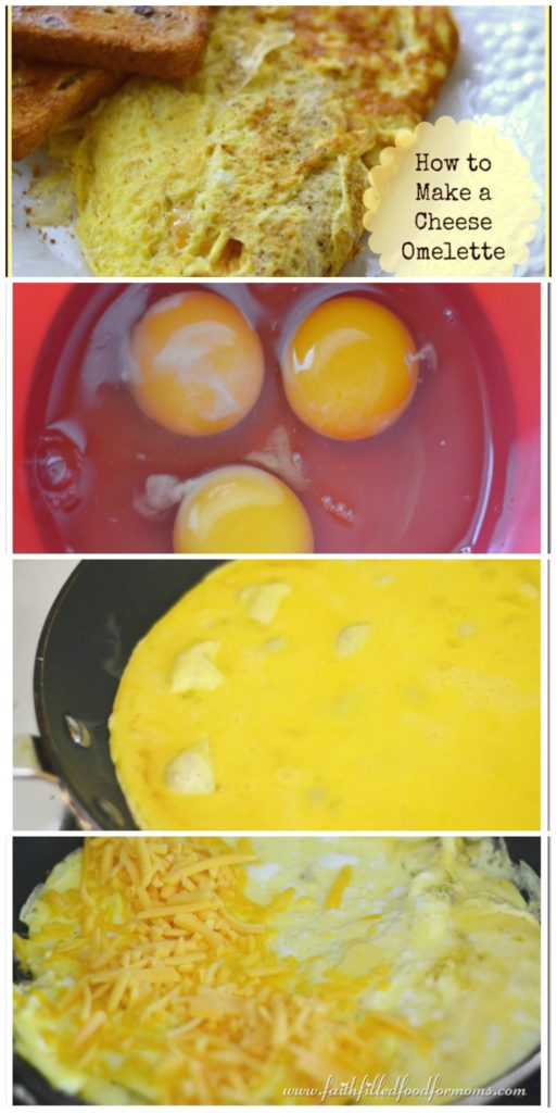 How to make a cheese Omelette