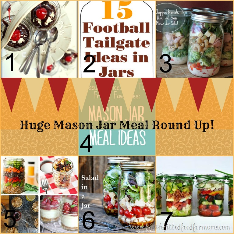 Huge Mason Jar Meals Round Up Faith Filled Food For Moms